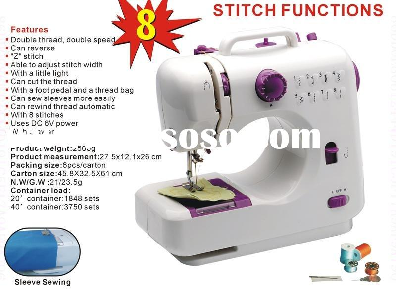 Double-thread mini sewing machine typical industrial sewing machine