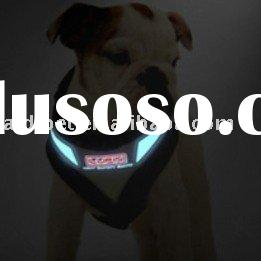 EL illuminated dog harness