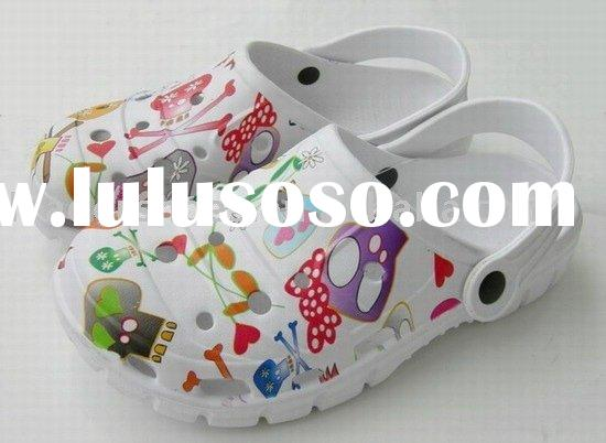 EVA Garden Clogs,Colorful clogs,printing clogs,EVA Clog Shoes