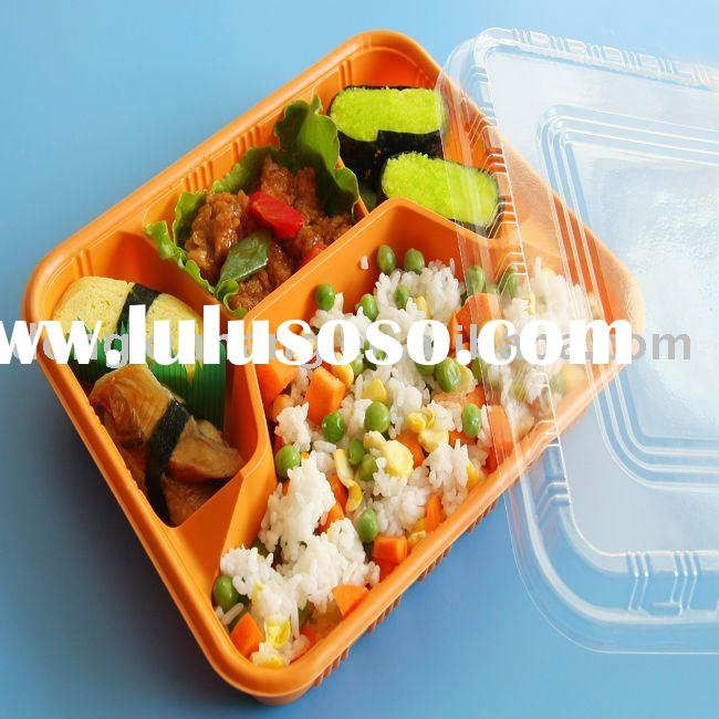 Eco-friendly disposable plastic food container