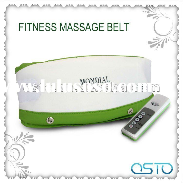 Electronic vibrating slimming belt (CE,RoHS,One year warranty)