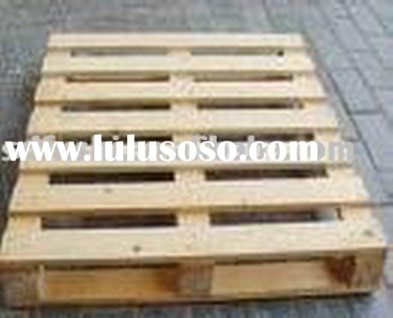 Environmental fumigation free wood pallet