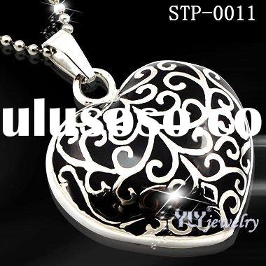 Fashion and popular Enamel pendant Stainless steel jewelry 2011 latest design pendant