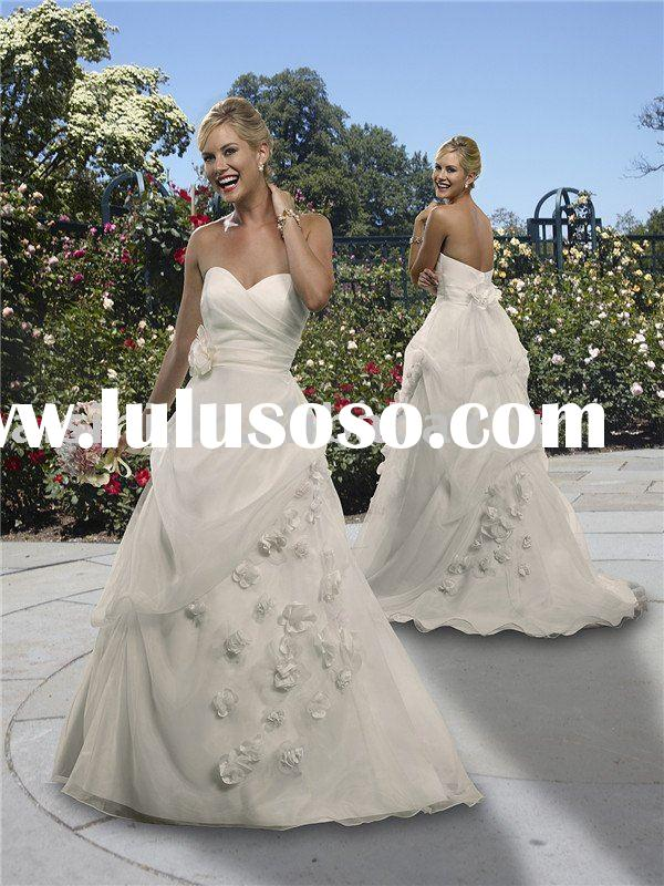 Forever yours, Style 411104 wedding dress, A-line sweetheart organza wedding gowns