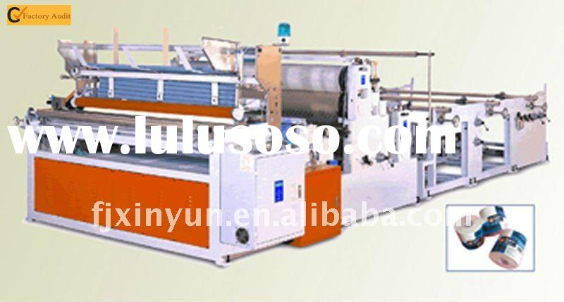 Full-automatic High-speed Toilet Paper and Towel Paper Machine