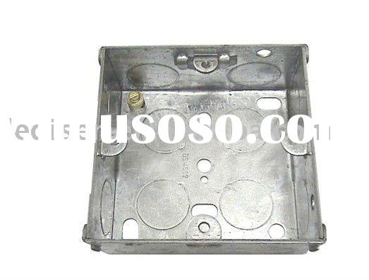 G.I. box,socket box,junction box, switch box,metal box, G.I. conduit box,1-gang, outlet box