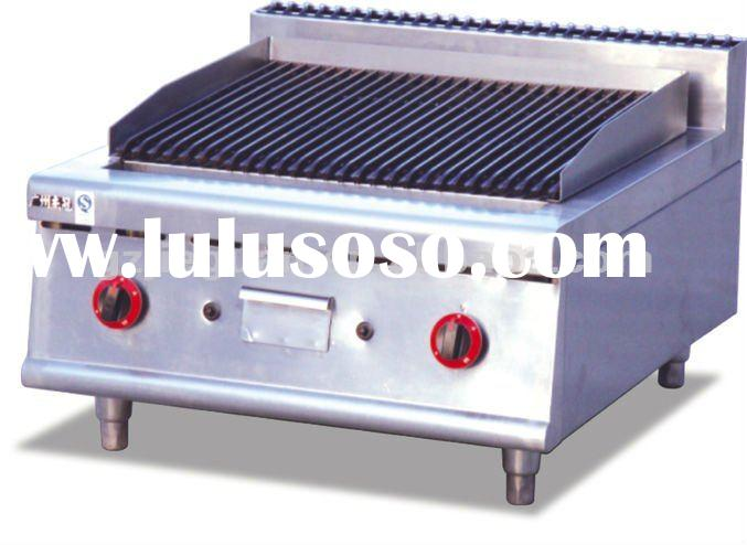 Gas Lava rock grill with cabinet GB-989-1