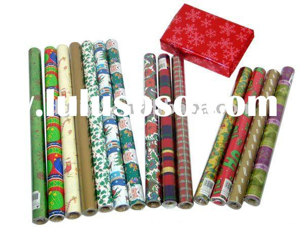 Gift wrapping paper roll