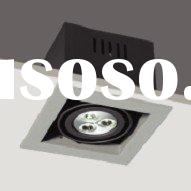Good Finishing 3*1W led recessed down light, led down lamp, led recessed ceiling light