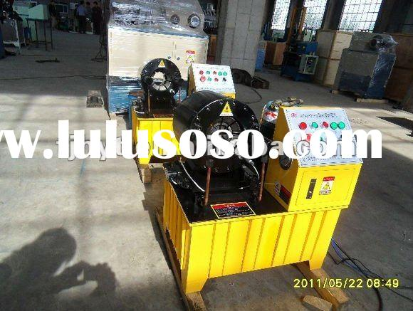 HOT!!! HOT!!! China lowest price Hydraulic high pressure hose crimping machine with the function of