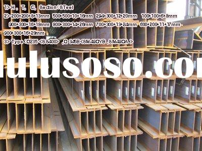 H ,T, C, Profile Steel( Beam),Rolled Steel Girder,Section Steel-->TYPE Q235 <SS400&