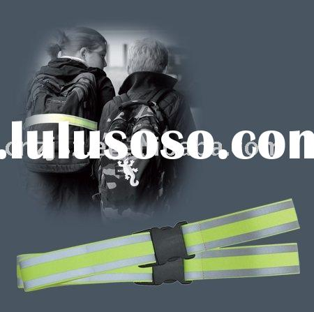 High visibility reflective straps