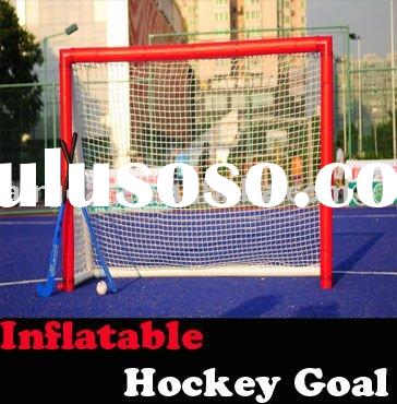 Hockey Stick(6'*4' Inflatable hockey goal)