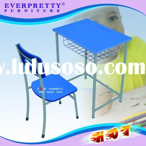 Hot Elementary school student desk and chair