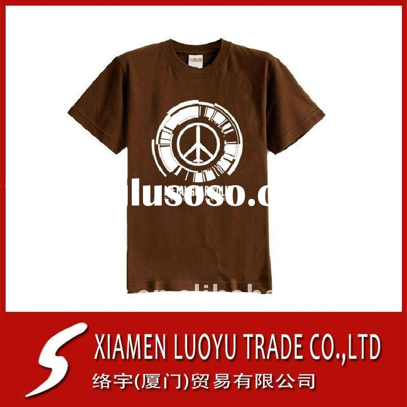 Hot Sale !!! Promotion T-shirts Blank Clothing With LOGO