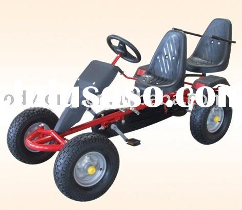 Hot sell adult pedal car for fitness and amusement/two seats go kart for ...