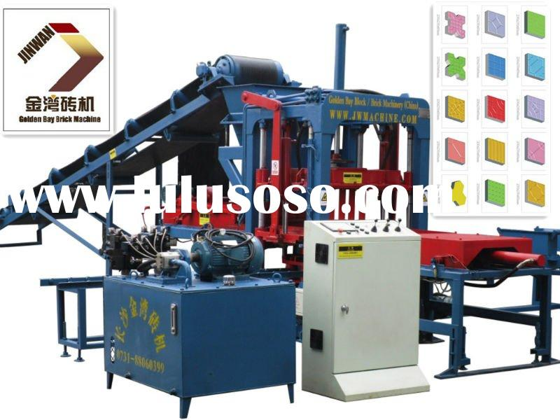 Hot seller small full automatic cement paver brick making machine,block making machine, construction