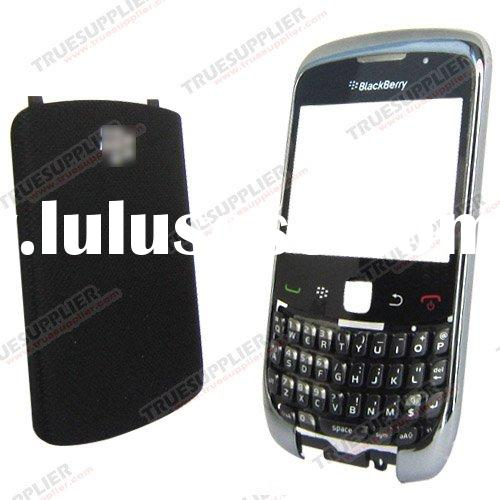 Housing Covers for Blackberry Curve 3G 9300 Faceplates Black Color
