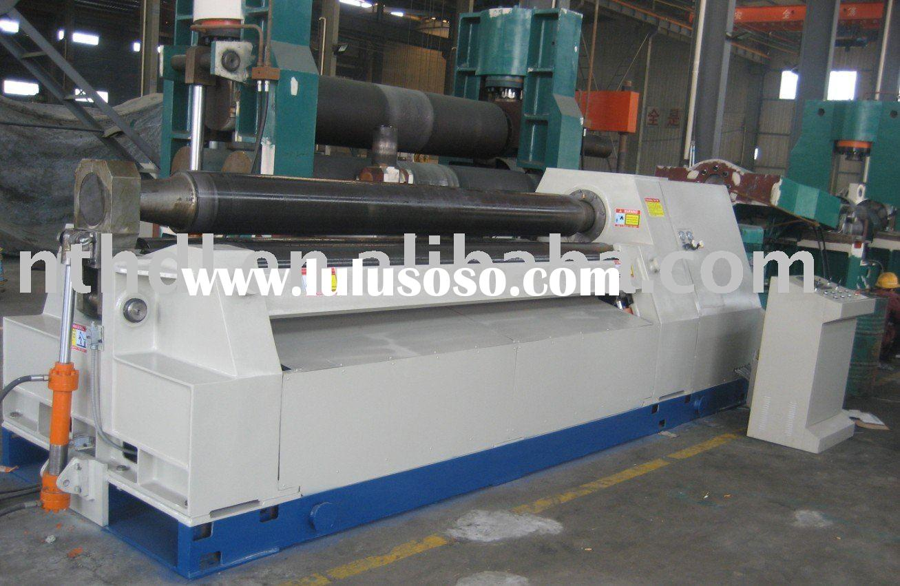 Hydraulic Four Roller Plate Bending Machines,plate rolling machines,cnc