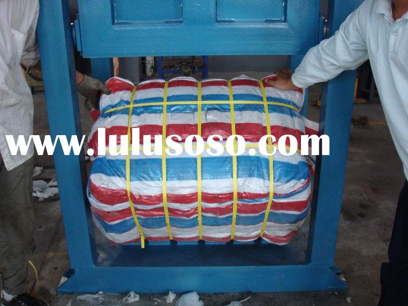 Hydraulic used clothing baler machine of gold supplier
