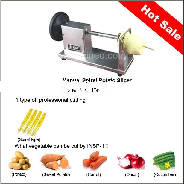 INEO Spiral Potato Chip Cutter (304# Stainless Steel)