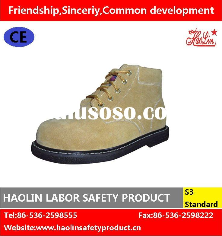 Industrial safety shoes with tire outsole HL-A049