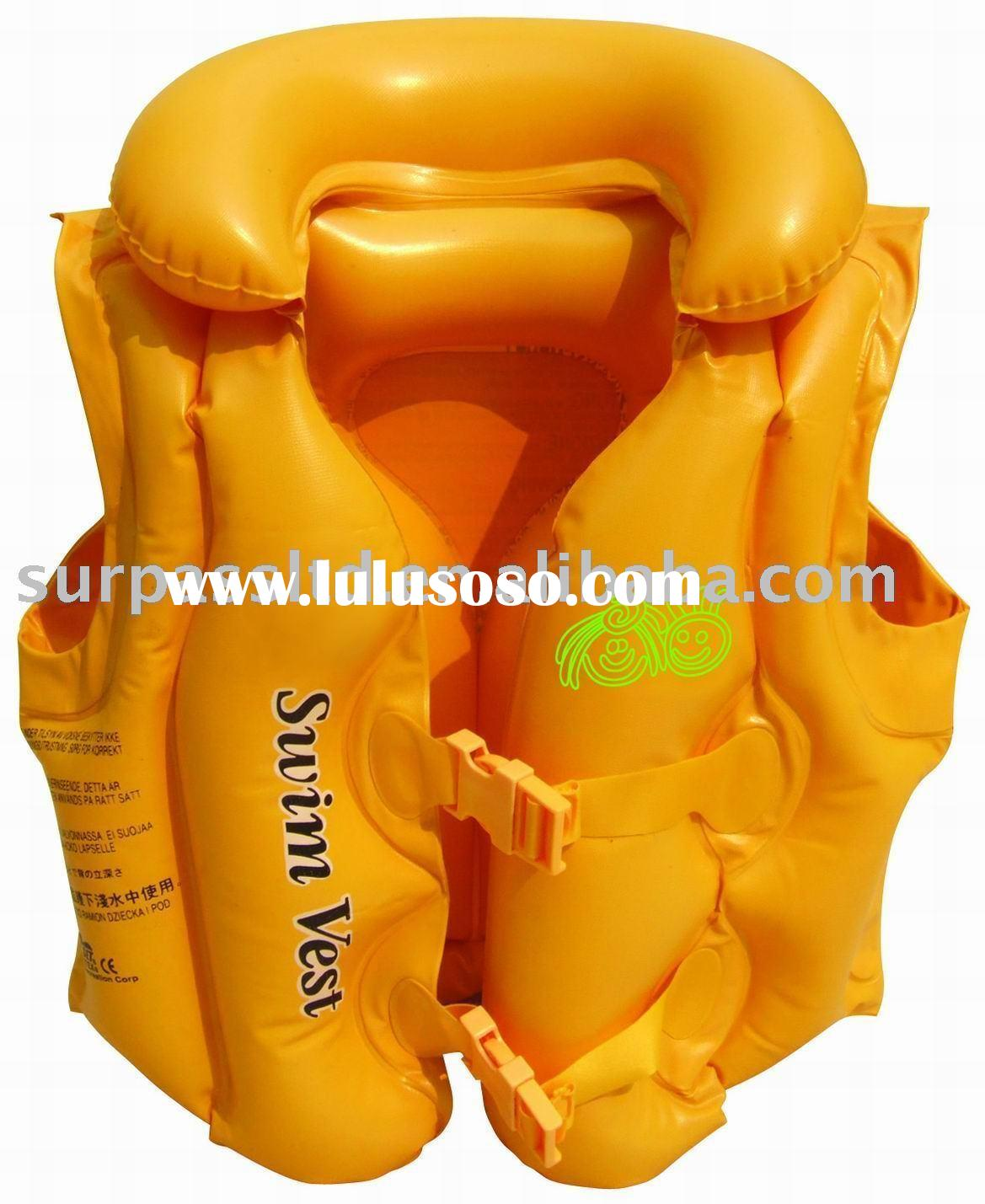Inflatable Life Vest, swimming ring