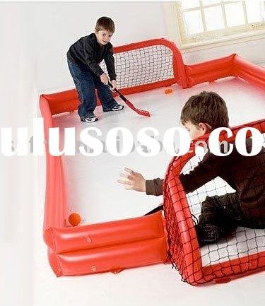 Inflatable hockey rink and goals/Inflatable Hockey Games
