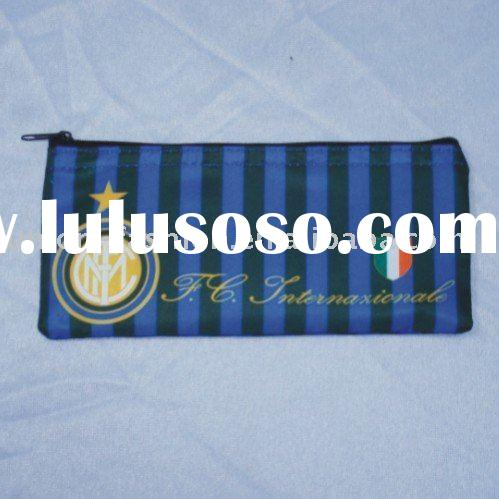 Inter Milan FC Football pencil case/soccer pencil case/football club fabric pencil bag/football souv