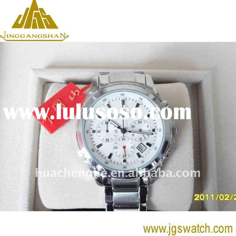 Janpan movement +stainless steel watch case quartz watch from manufacturer