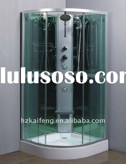 Jetted Bathroom Shower Enclosure with Seat