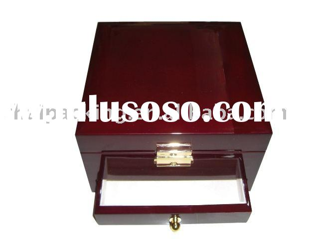 Jewelery storage boxes, jewelry storage ideas, wooden jewelry cases, wood storage box (THW743)