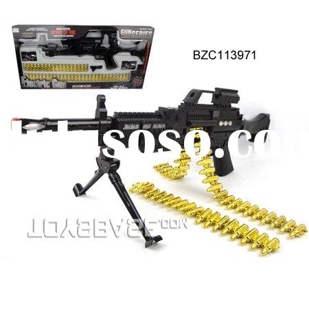 Kids plastic gun toy electric baby toy gun