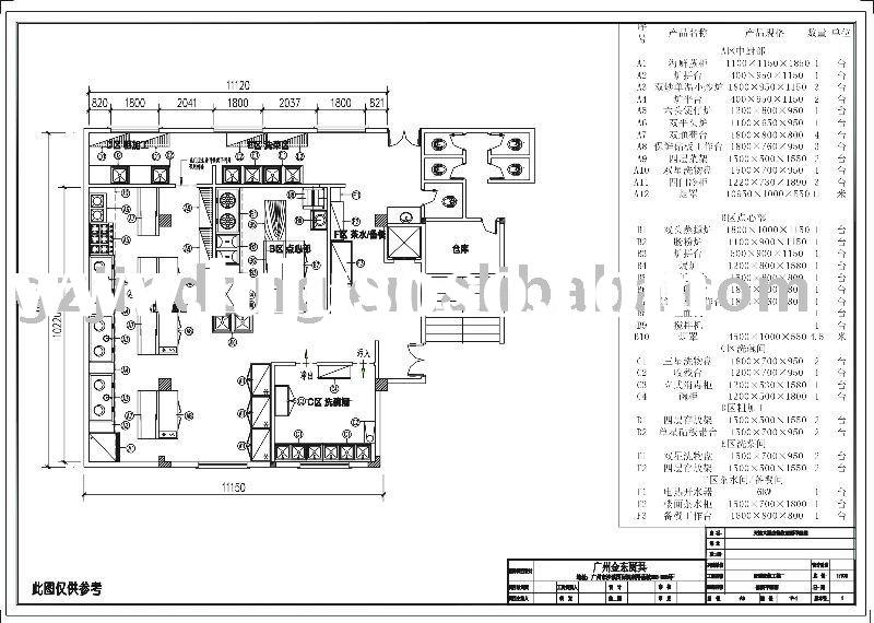 Commercial Kitchen Layout Sample