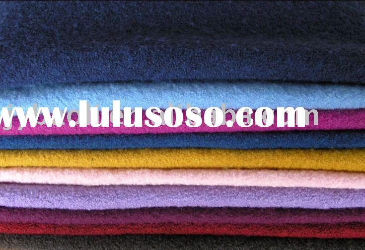 Knitted Wool Fabric,boiled wool,wool fabric