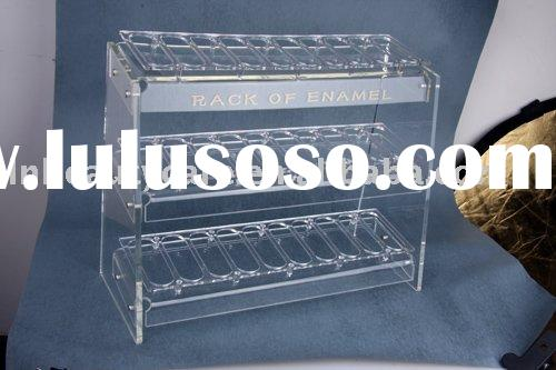 LNG-009 Acrylic nail polish display & nail polish stand