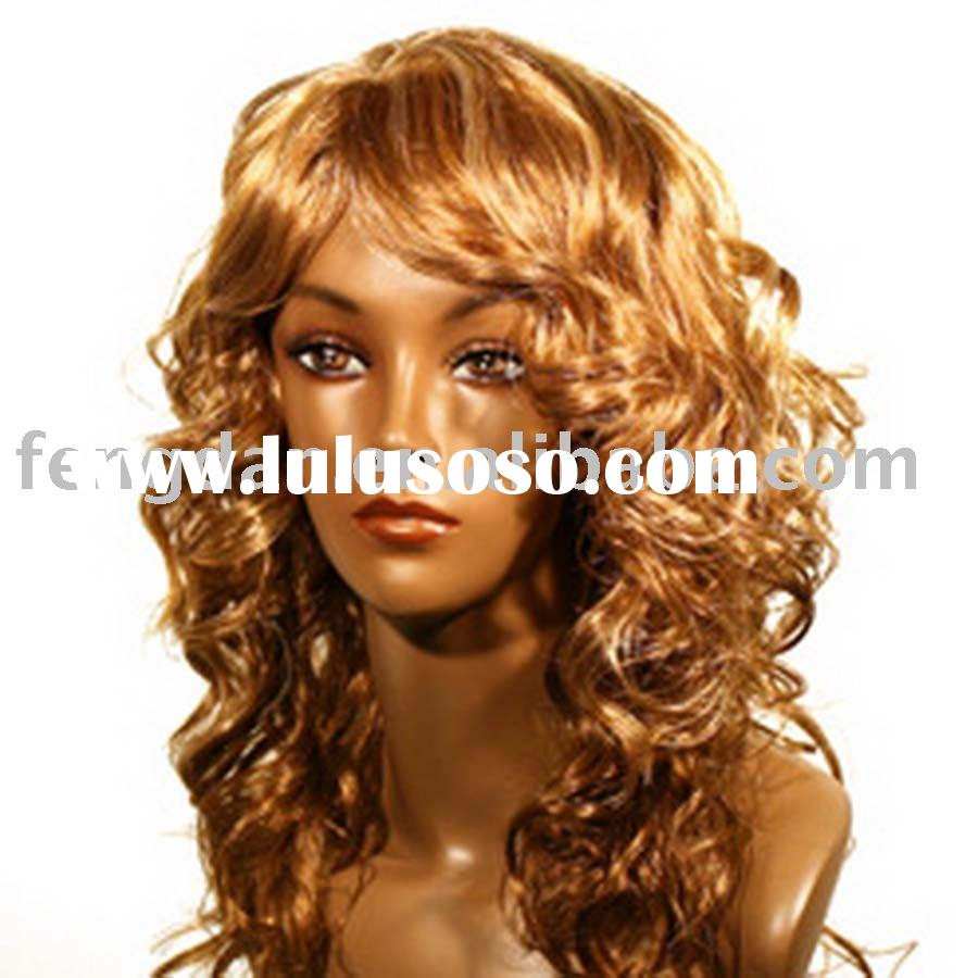 LONG SYNTHETIC AFRICAN AMERICAN WIGS