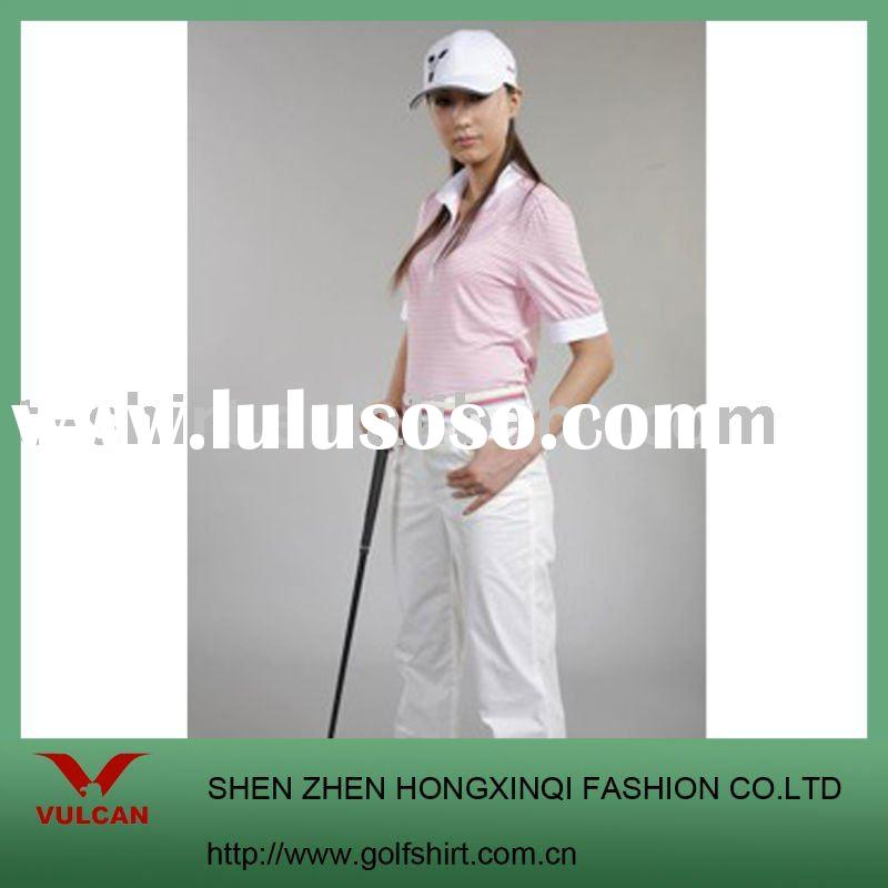 Ladies' T-shirt, golf clothes, golf polo shirt, fashion t shirt