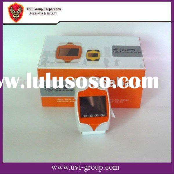 Latest watch cell phone gps tracker with touch screen and real time tracking
