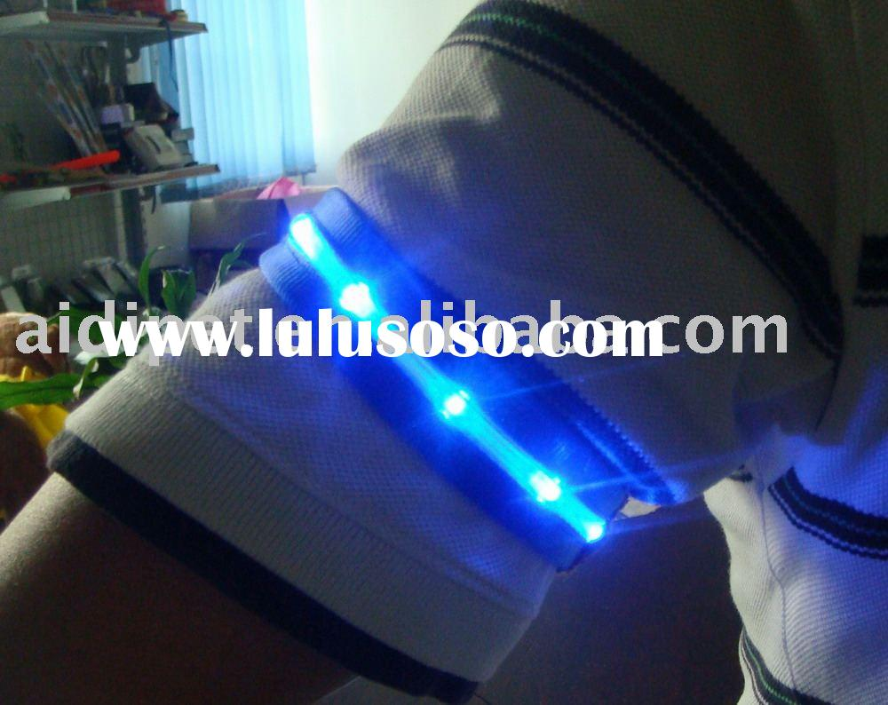 Led light up arm band-promotional gift