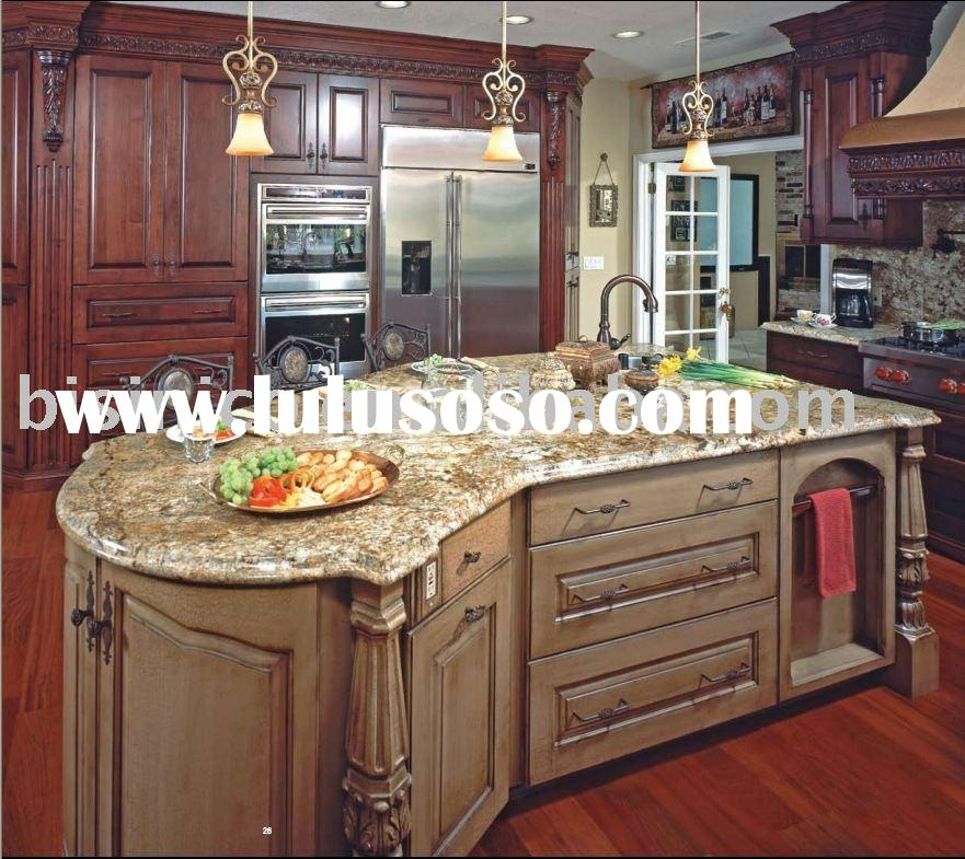 Luxury American style kitchen cabinet,solid wood kitchen cabinet,kitchen doors,kitchen island,kitche