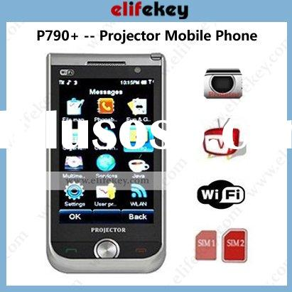MFU P790+ Projector Wifi TV Dual sim card mobiles phone