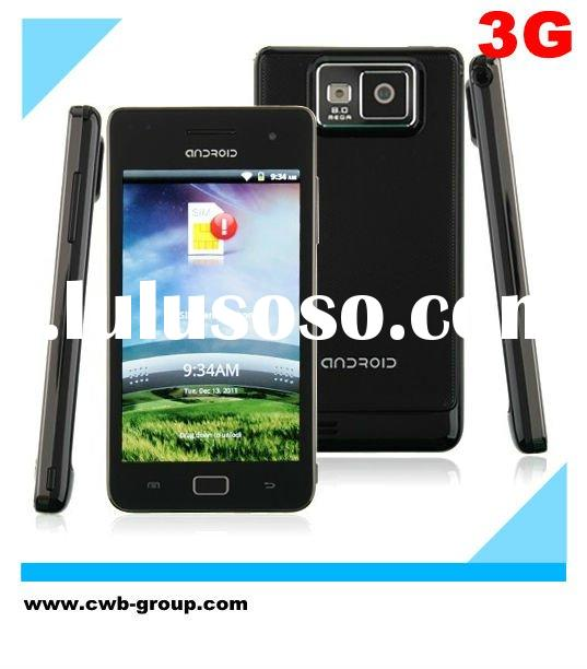 MTK6573 Dual Core Processor Capacitive 3G Android 2.3 Smart Phone,Five-Point touch,Automatic Focus,V