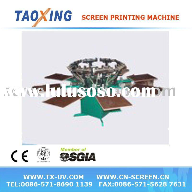 Manual T-Shirt Screen Printing Machine