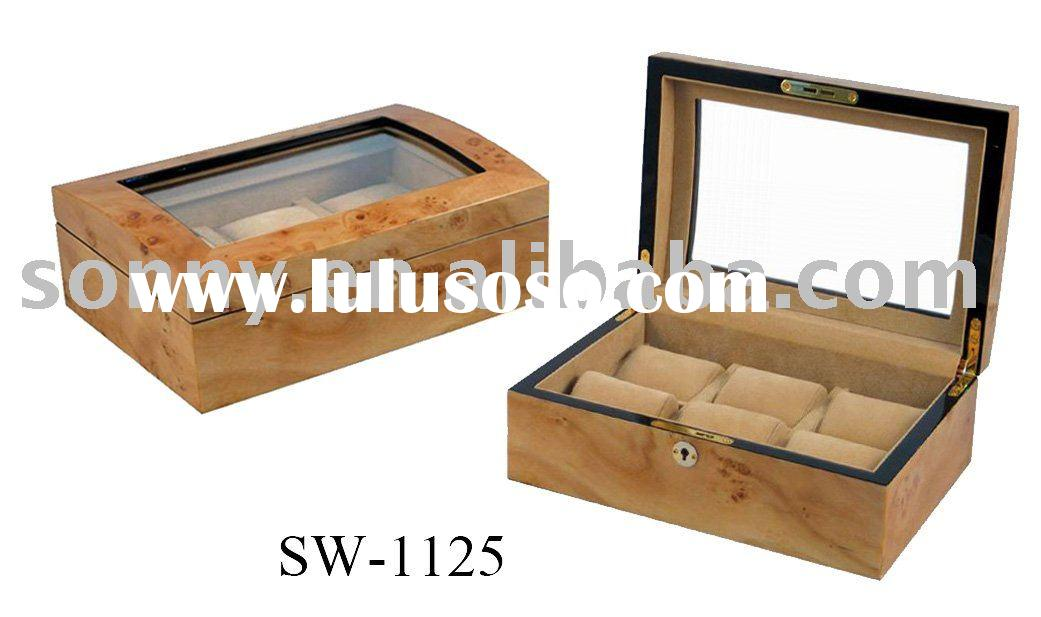 Men's Jewelry Watch Boxes