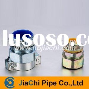 Metal hose connector/flexible conduit fittings