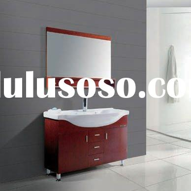Modern Design Bathroom Cabinet (Solid Oak Wood Cabinets)