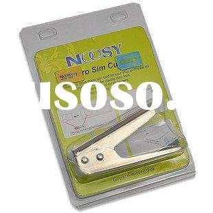 NOOSY Micro sim cutter with sim card adapter for iphone4 and IPAD