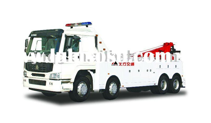 N. TRAFFIC KFM5319TQZ-SQZ1660SLV Heavy-duty S Series (HOWO) Road Wrecker