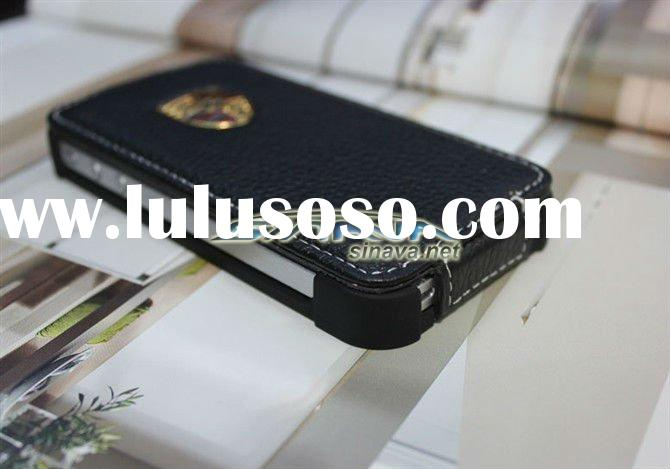New Brand Racing Car Series luxury leather case for iphone 4 4S 4G